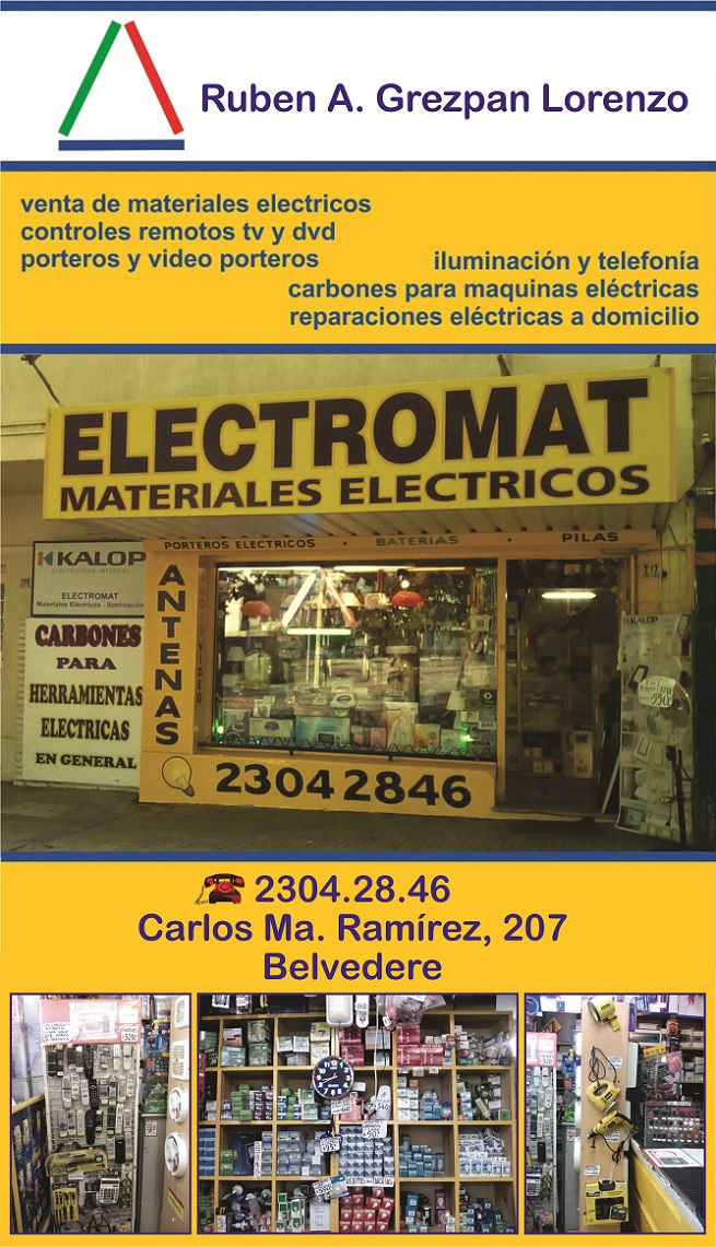materiales electricos belvedere